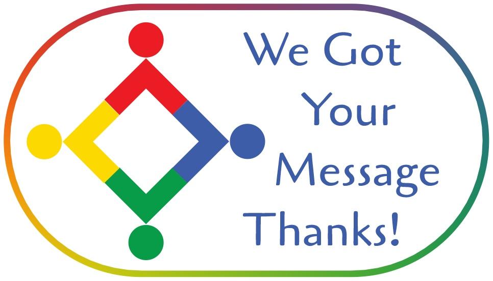 Thanks in Logo